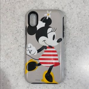 Disney iPhone X Otterbox Minnie Mouse